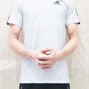 Áo thun Adidas trắng